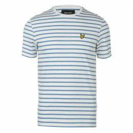 Lyle and Scott Lyle Breton Stripe T Shirt