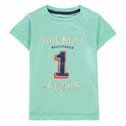 Hackett Short Sleeve No 1 Print T Shirt