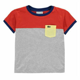 Lacoste Cut And Sew T Shirt