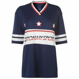 Tommy Sport Tommy Star Top Womens