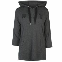 DKNY Cord Hooded Tee Ladies