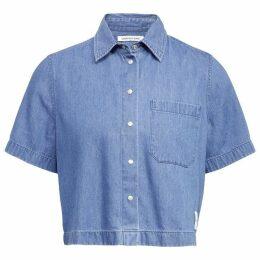 Calvin Klein Jeans Crop Denim Shirt