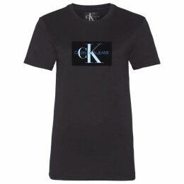 Calvin Klein Jeans Mono Flock T Shirt