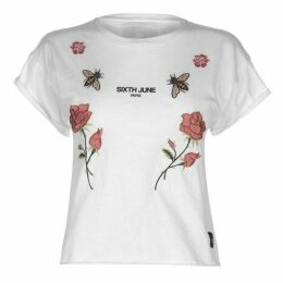 Sixth June Embroidered T Shirt