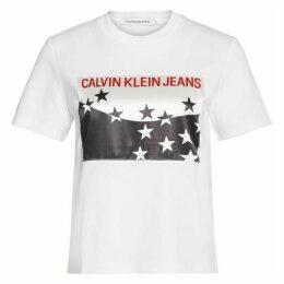 Calvin Klein Jeans Stars Stripes T Shirt