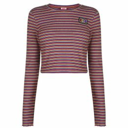 Juicy Stripe Ribbed T Shirt