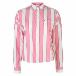 Tommy Jeans Tommy Cropped Boxy Shirt Womens