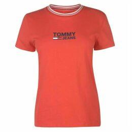 Tommy Jeans Tommy Rib Stripe T Shirt