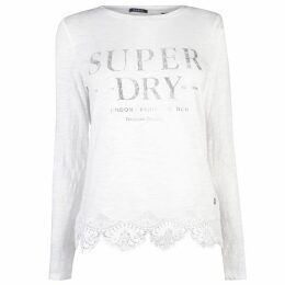 Superdry Womens Annabeth Lace Top