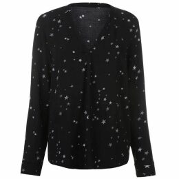 Firetrap Blackseal Pamela Star Print Top