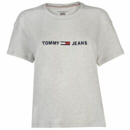 Tommy Jeans Boxy Clean Logo T Shirt