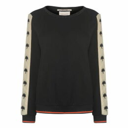 Scotch and Soda Scotch Embroidered Tape Sweater Ladies
