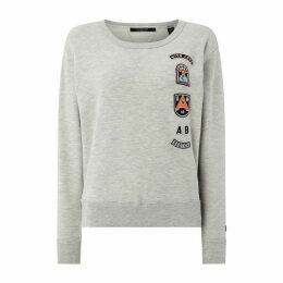 Scotch and Soda Scotch Badge Sweat Ld92