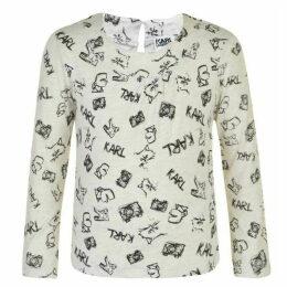 Karl Lagerfeld Printed T Shirt