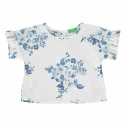 Benetton Floral T Shirt