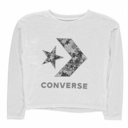 Converse Oversized Sparkly T Shirt