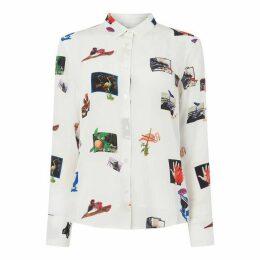 Paul Smith PS Scrapbook Shirt Ld92