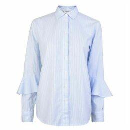 Tommy Hilfiger Frill Striped Shirt