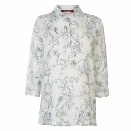 Max Mara Studio Max Jedy Linen Shirt Ladies