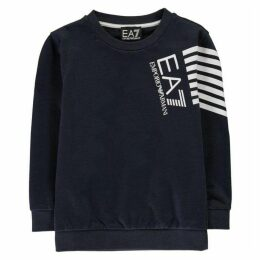 EA7 7 Line Logo Sweater