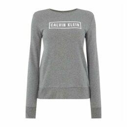 Calvin Klein Performance Ck Perf Logo Crw Swt Ld92