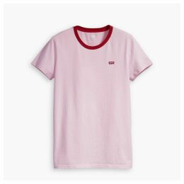 The Perfect Tee Cotton Logo Print T-Shirt