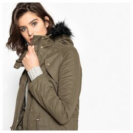 Mid-Length Hooded Parka