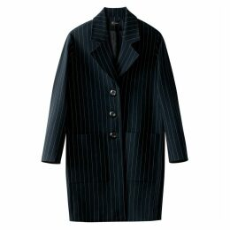 Ovoid Striped Coat