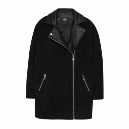 Mid-Length Asymmetric Coat