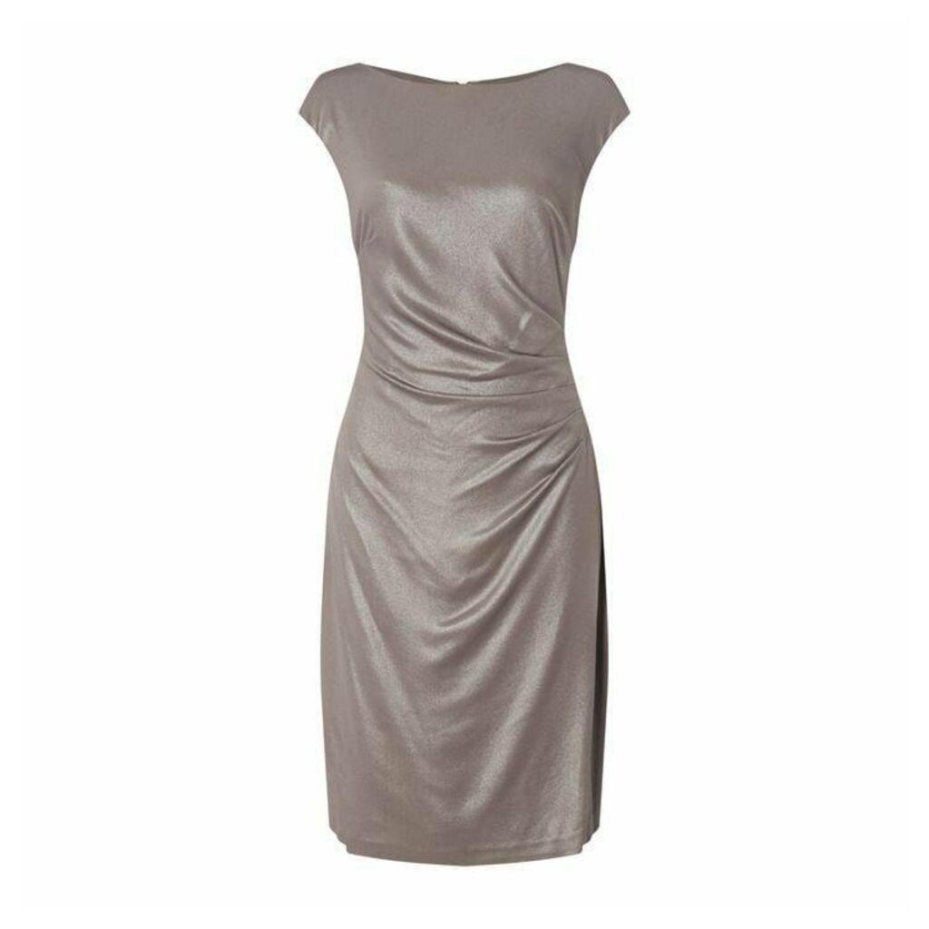 Lauren by Ralph Lauren Becca Foil Dress