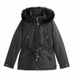 Short Hooded Winter Parka