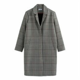 Checked Tailored Coat
