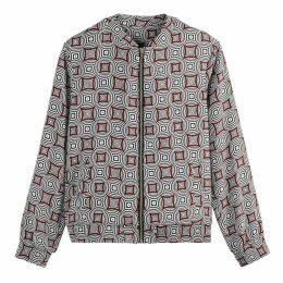 Graphic Bomber Jacket