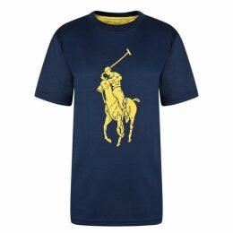 POLO RALPH LAUREN Ralph Junior Polo Performance Logo T Shirt