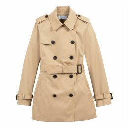 Cotton Short Trench Coat