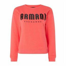 Armani Exchange AX Gothic Logo Jmpr Ld92