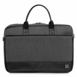 Knomo Holborn Princeton Grey Briefcase 15.6