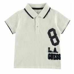 Guess 8 Logo Short Sleeve Polo Shirt