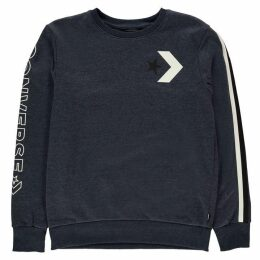 Converse Word Crew Neck Sweat Pullover