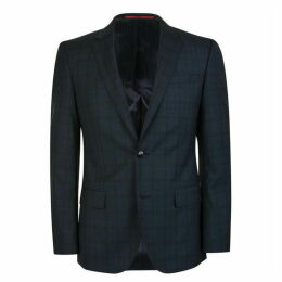 Hugo Business Slim Fit Checked Blazer