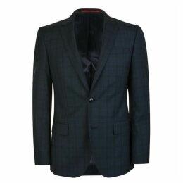 Hugo Business Slim Fit Checked Blazer
