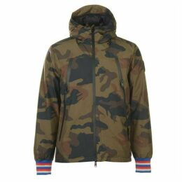 Replay Camouflage Print Jacket