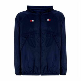 Tommy Sport Tommy Mens Back Print Windbreaker Jacket