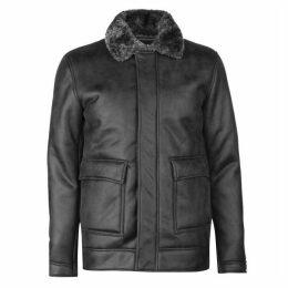 Firetrap Blackseal Shearling Jacket