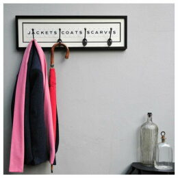 Vintage Playing Cards Coat Rack - Jackets Coats Scarves