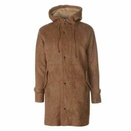 New County Suedette Parka Jacket