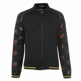 Versace Jeans Couture Versace Tiger Logo Bomber Jacket