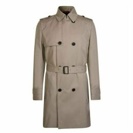 Hugo Business Double Breasted Trench Coat