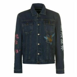 ALWAYS RARE Embroidered Denim Jacket