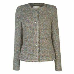 Oui Tweed Jacket Ld93